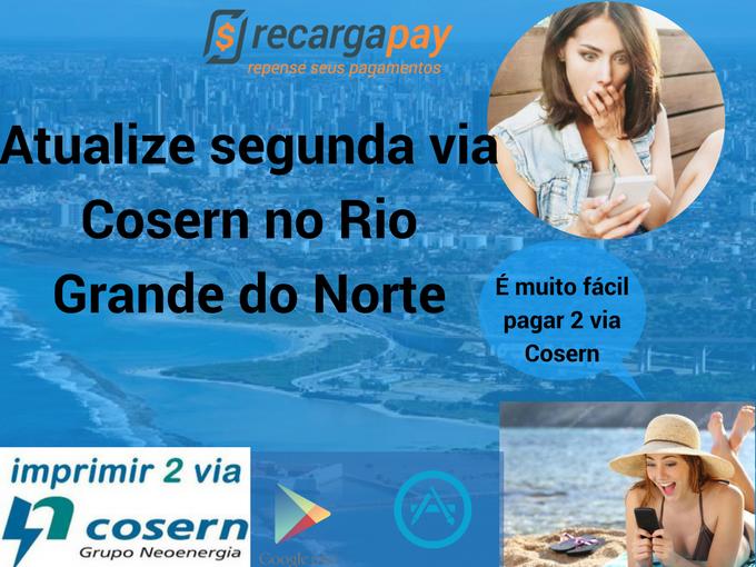 Atualiza segunda via Cosern no Rio Grande do Norte