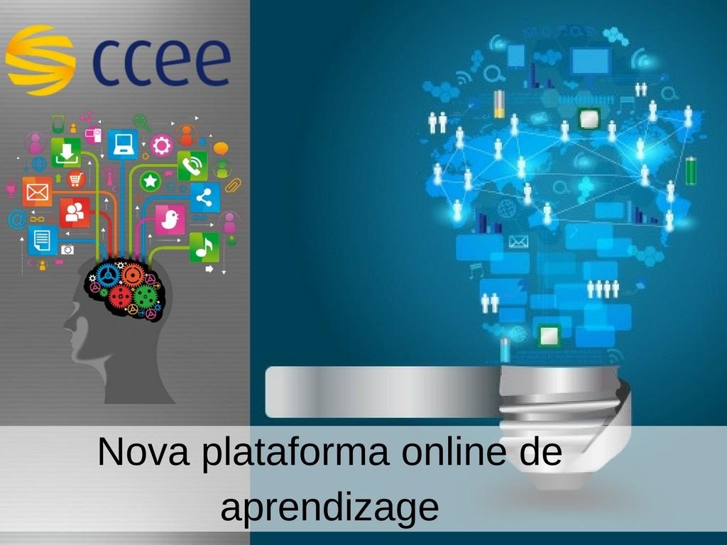 Nova Plataforma online de aprendizage da CCEE