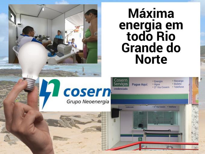 Cosern, empresa líder em energia