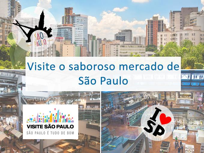 Visite o mercado municipal de São Paulo
