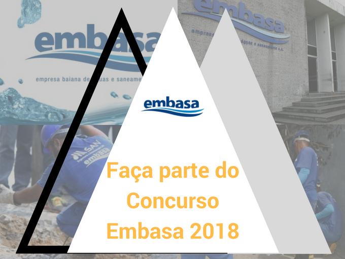 Detalhes do Concurso Embasa 2018