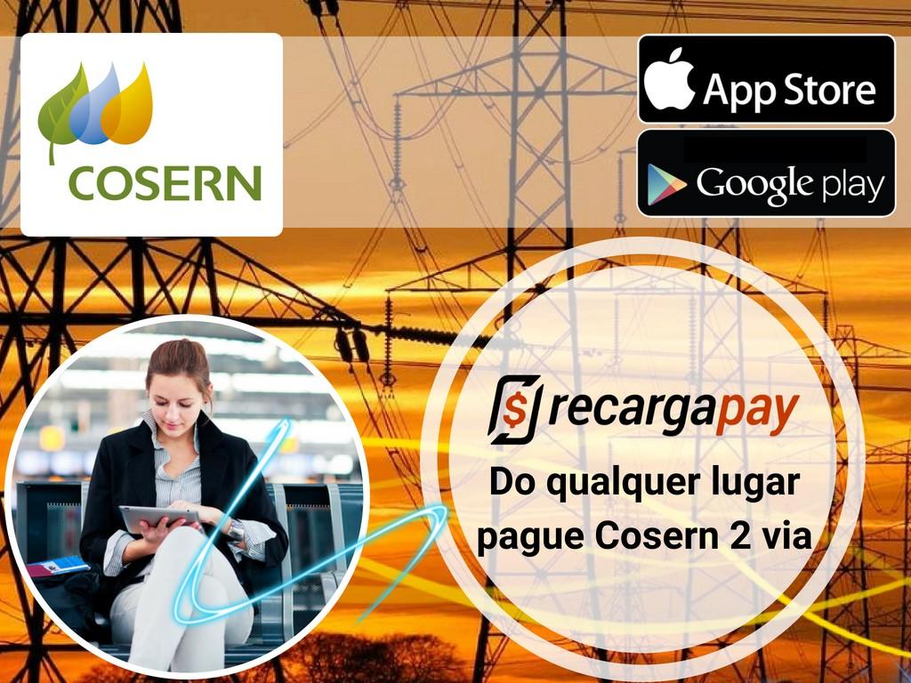 Pagar Cosern 2 via com Recargapay