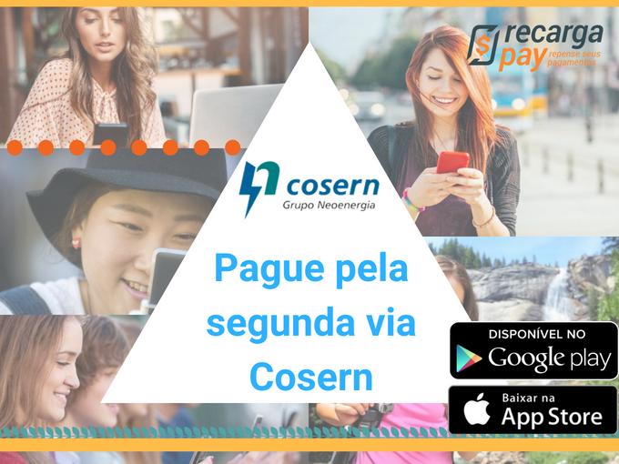 Pague pela segunda via Cosern