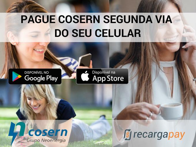 Pague Cosern 2 via do seu celular