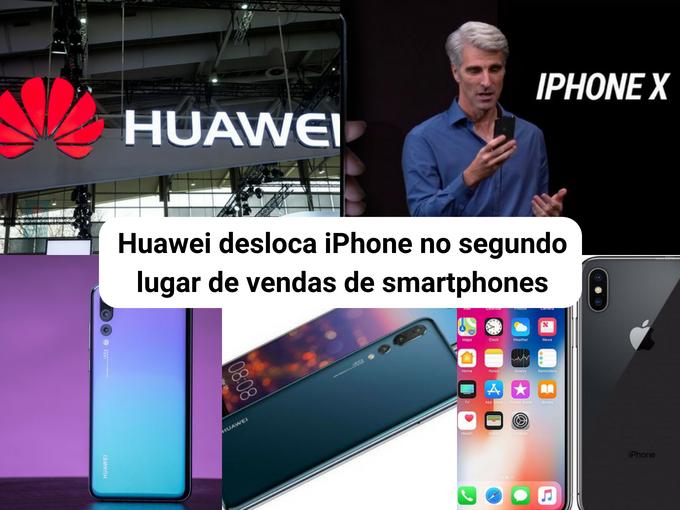 Huawei é bem sucedida em vendas em sua gama média