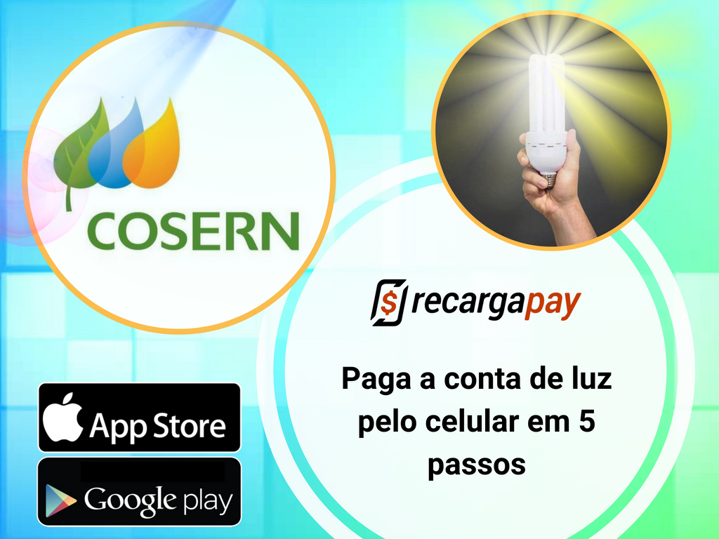 Paga conta Cosern com Recargapay