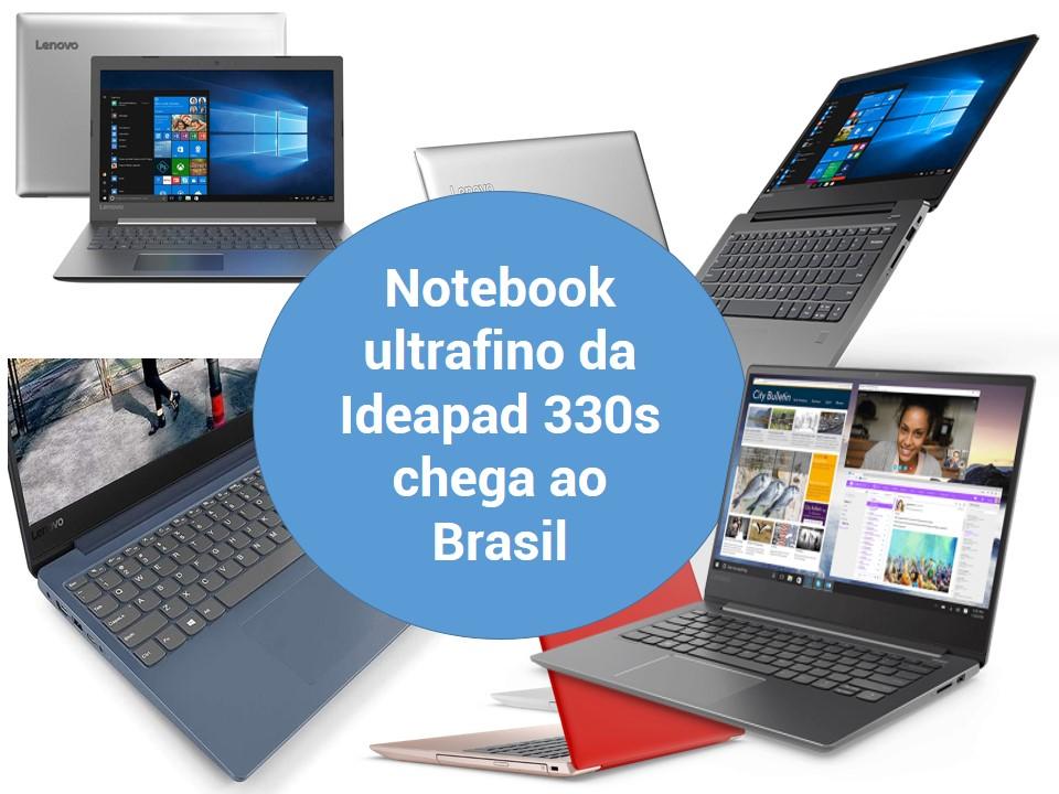 Novo notebook de Lenovo chaga ao Brasil