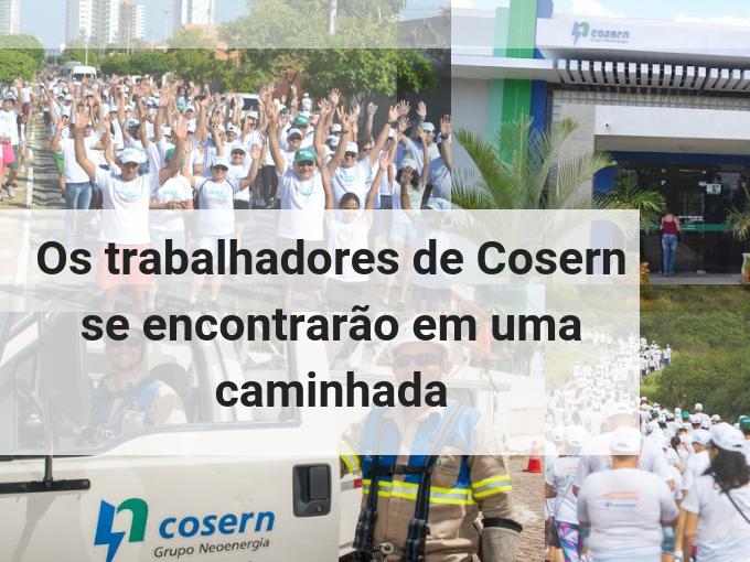 Caminhada da Cosern
