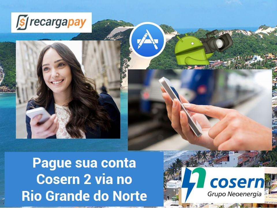 Pague sua conta de luz Cosern 2 via em Rio Grande do Norte