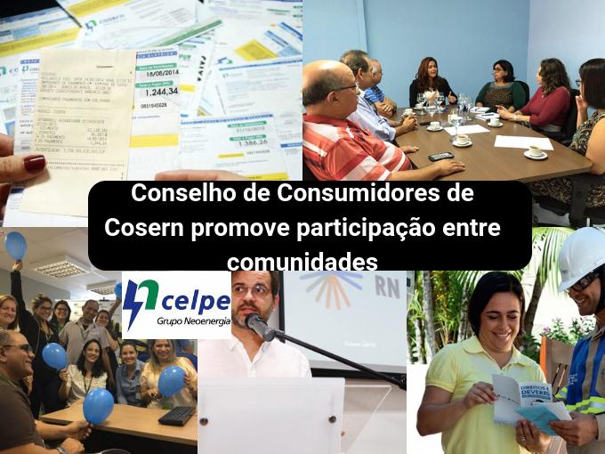 O Conselho de Consumidores da Cosern melhora os serviços