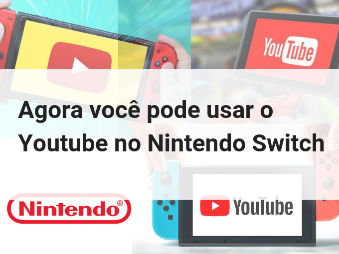 Youtube no Nintendo Switch