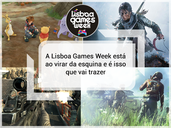 A Lisboa Games Week está ao virar da esquina e é isso que vai trazer
