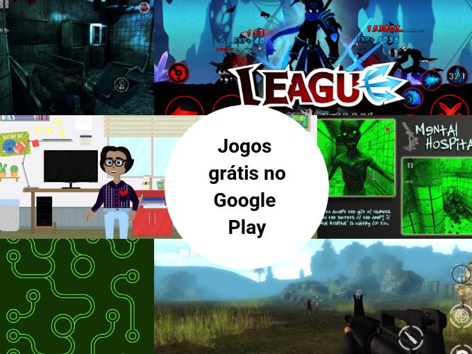 Google Play promove jogos gratuitos
