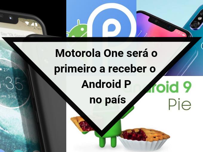 Android P para o Motorola One