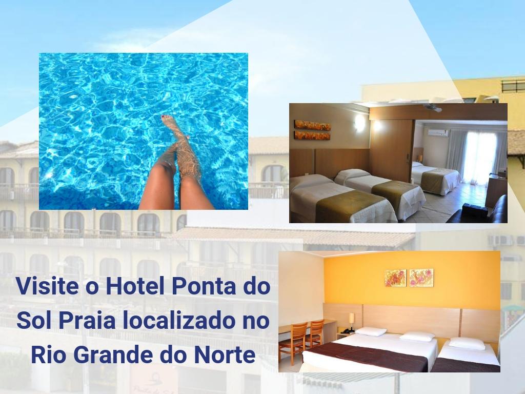 Visite o Hotel Ponta do Sol Praia localizado no Rio Grande do Norte