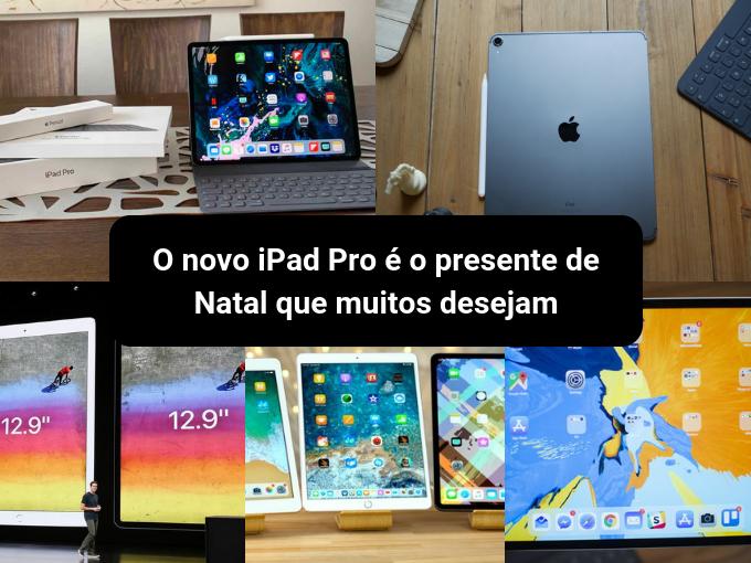 O novo tablet da Apple tem um grande potencial