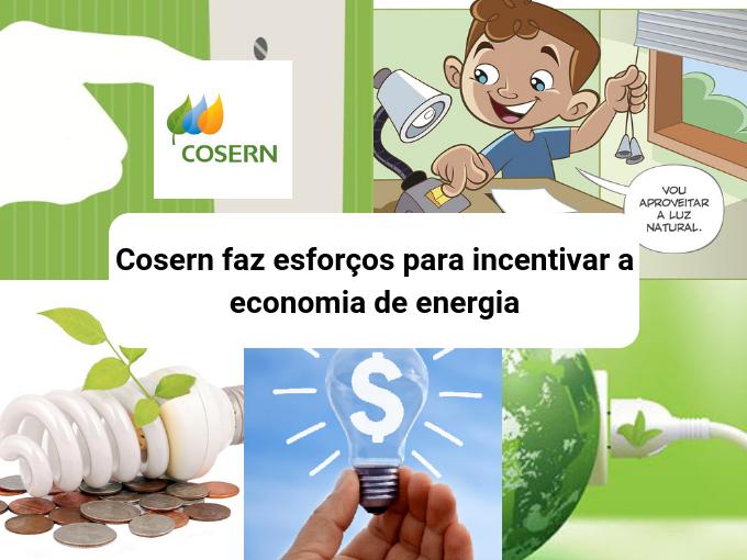 Cosern educa sobre a economia de energia