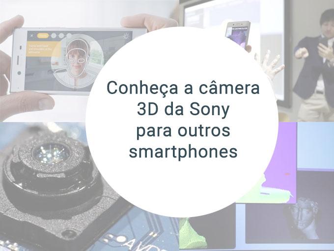 Conhece a câmera 3D que será incluída nos smartphones