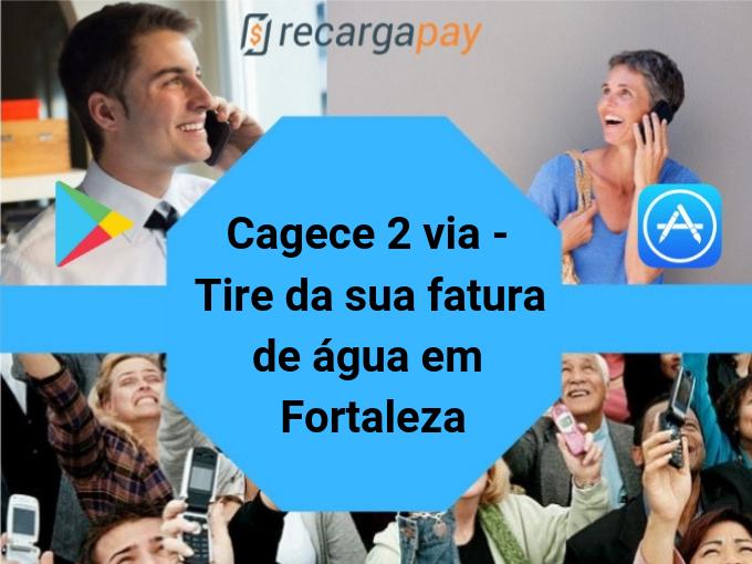 Cagece 2 via - Tire da sua fatura de água em Fortaleza