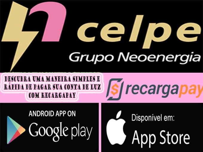 Saiba como pagar sua conta Celpe com RecargaPay