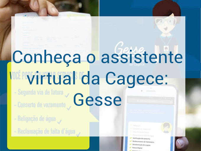 Gesse: o assistente virtual da Cagece