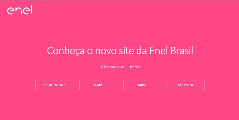 Entrar no site da Enel