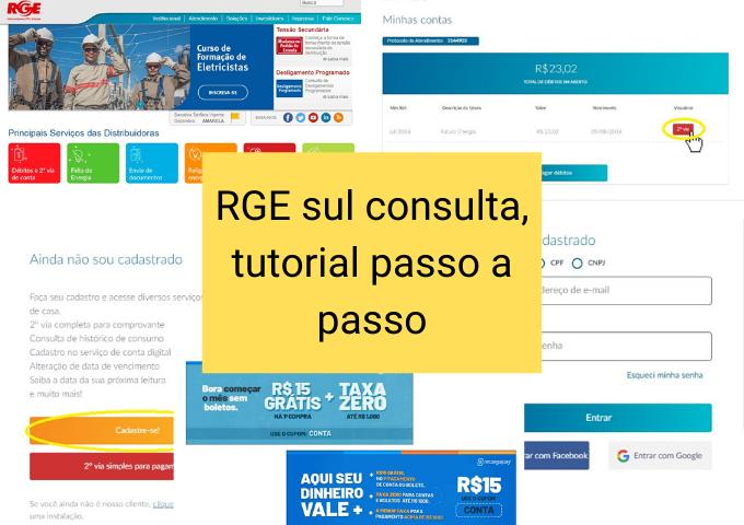 Consulta RGE passo a passo