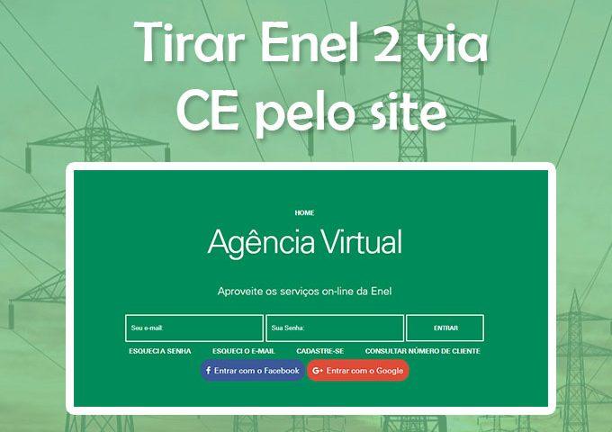Enel 2 via CE: Consulta