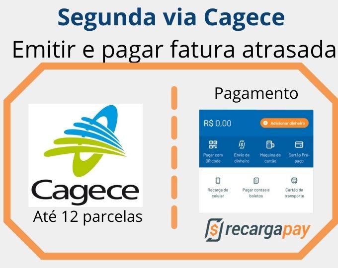 Segunda via Cagece
