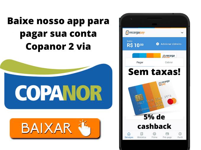 Baixe nosso app para pagar sua conta Copanor 2 via
