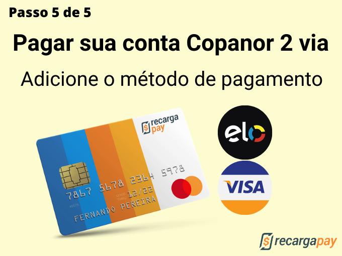 Passo 5 de 5 para pagar sua conta Copanor