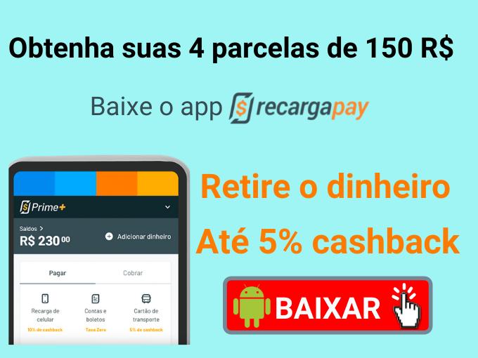 Obtenha os 150 R$ do Auxílio Emergencial com o app RecargaPay