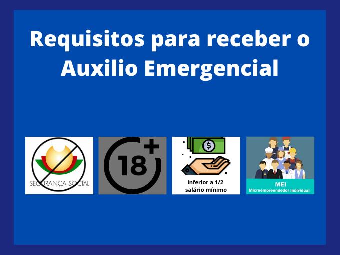 Requisitos: quem tem direito ao auxilio emergencial