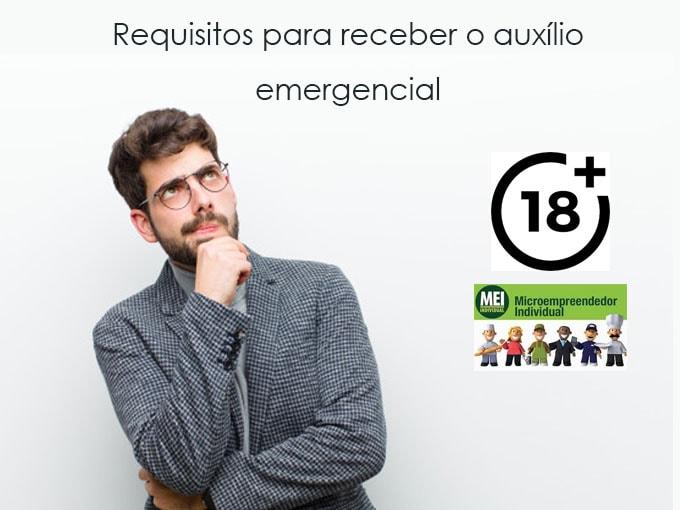 Requisitos para receber o auxílio emergencial
