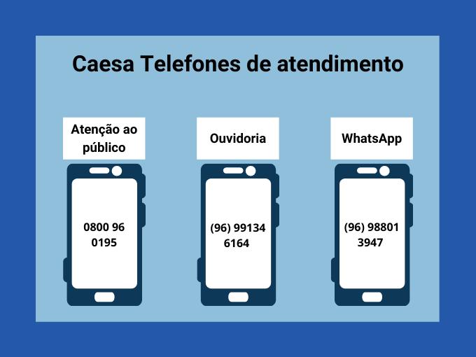 Caesa Telefones de atendimento