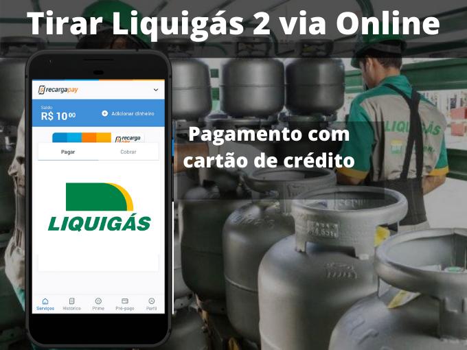 Tirar Liquigás 2 via Online