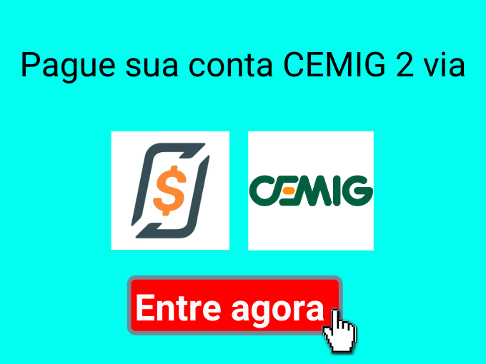 Pague sua conta CEMIG 2 via