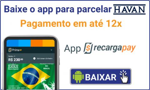 Baixe o app para parcelar Havan
