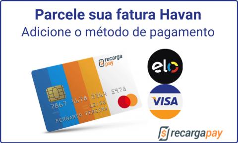 Escolha seu método de pagamento
